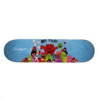 Oh Yeah by Demonbabies Skate Deck