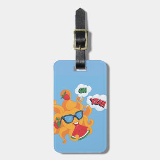 Oh! Yeah! it's summer time Luggage Tag