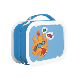 Oh! Yeah! it's summer time Lunch Box