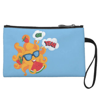Oh! Yeah! it's summer time Wristlet