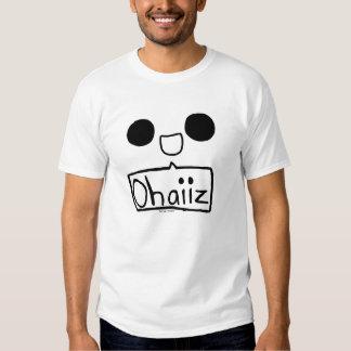 Ohaiiz shart. t-shirt