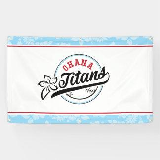 Ohana Titans Banner