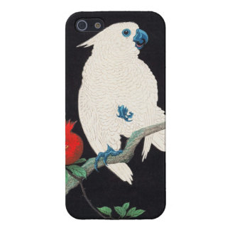 Ohara Shoson, Cockatoo and Pomegranate ukiyo-e iPhone 5/5S Cases