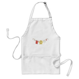 OhBaby ADORABLE BABY CLOTHES HANGING CLOTHESLINE P Apron