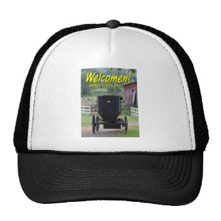 OHCA101.Amish Buggie - Holmes Co OH. Mesh Hats