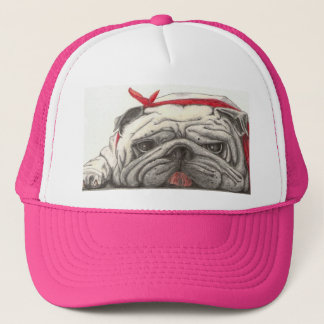 """Ohhh, BULL DOG!!"" Trucker Hat"