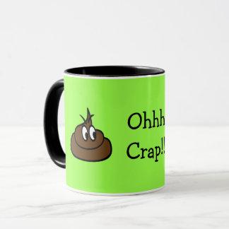 Ohhh Crap! ELECTRIC LIME GREEN MUG! Mug