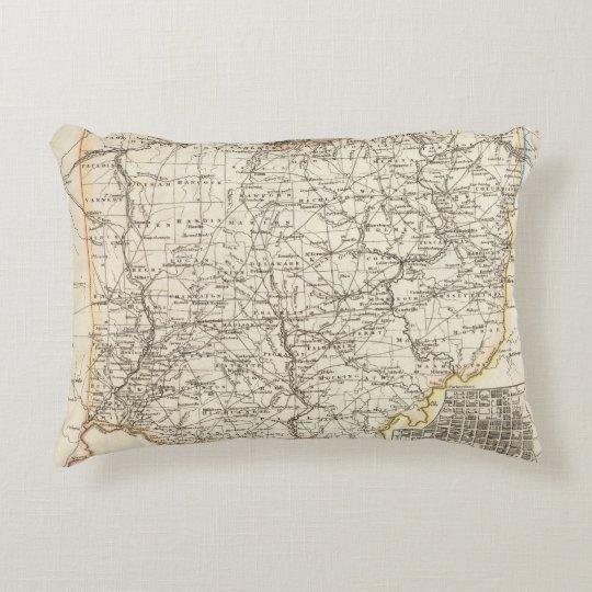 Ohio 12 accent pillow