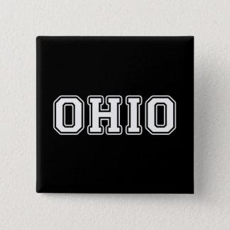 Ohio 2 Inch Square Button