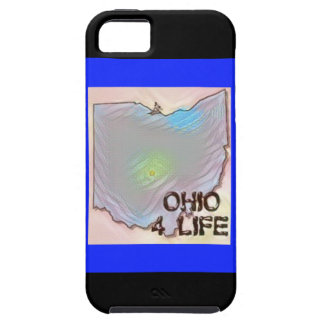 """Ohio 4 Life"" State Map Pride Design Case For The iPhone 5"