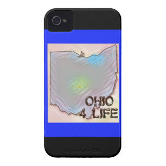 """Ohio 4 Life"" State Map Pride Design iPhone 4 Cover"