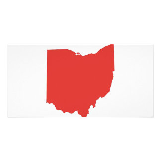 Ohio - a RED State Customized Photo Card
