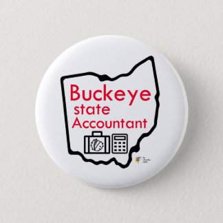 Ohio Buckeye Accounting Button