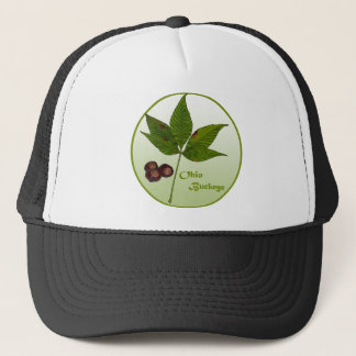 Ohio Buckeye Tree Trucker Hat
