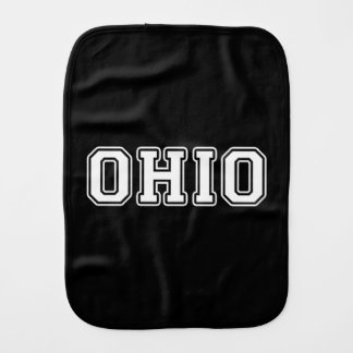 Ohio Burp Cloth
