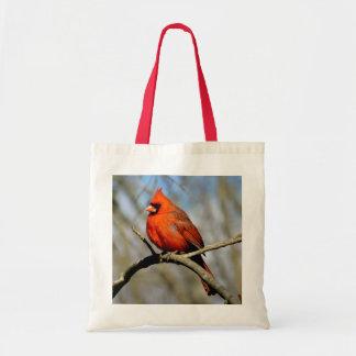 Ohio Cardinal Profile Tote Bag