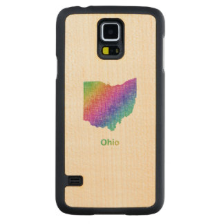 Ohio Carved Maple Galaxy S5 Case