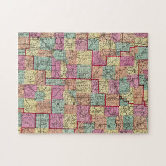 Ohio Counties Jigsaw Puzzle