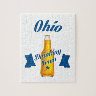 Ohio Drinking team Jigsaw Puzzle