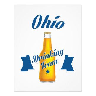 Ohio Drinking team Letterhead