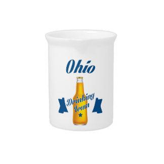 Ohio Drinking team Pitcher