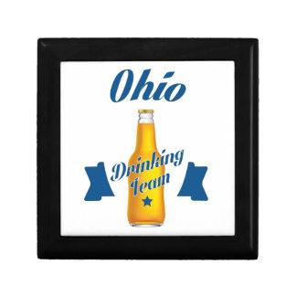 Ohio Drinking team Trinket Box