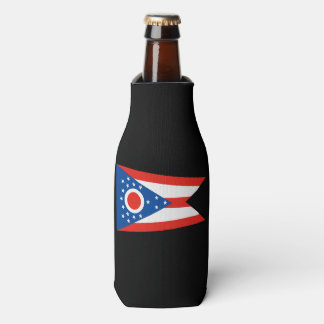 OHIO Flag Bottle Cooler