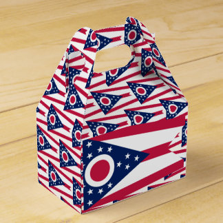 Ohio Flag Favor Box