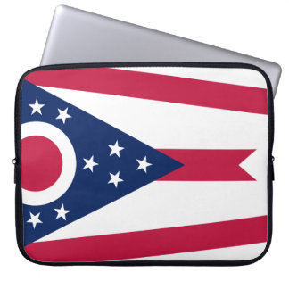 Ohio Flag Laptop Sleeve