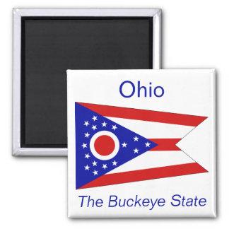 Ohio Flag Magnet