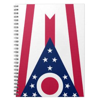 Ohio Flag Notebook