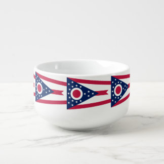 Ohio Flag Soup Mug