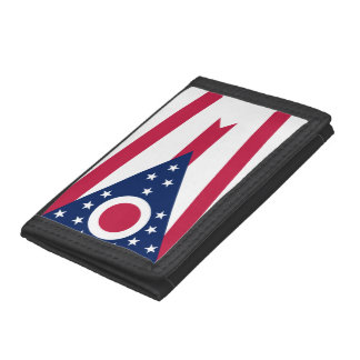 Ohio Flag Trifold Wallet