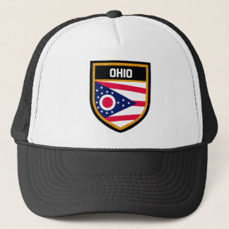 Ohio Flag Trucker Hat