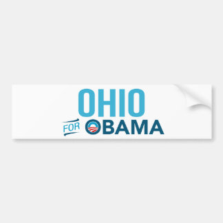 Ohio For Barack Obama Biden Bumper Sticker