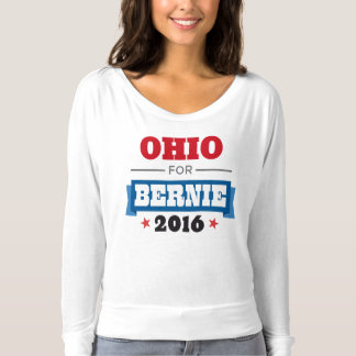 OHIO FOR BERNIE SANDERS Flowy Long Sleeve T-Shirt