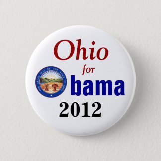Ohio for Obama 2012 2 Inch Round Button