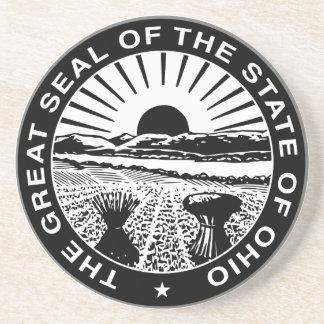 Ohio Great Seal Coaster