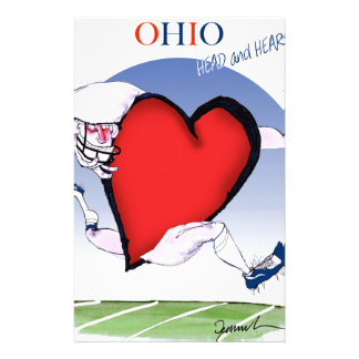 ohio head heart, tony fernandes stationery