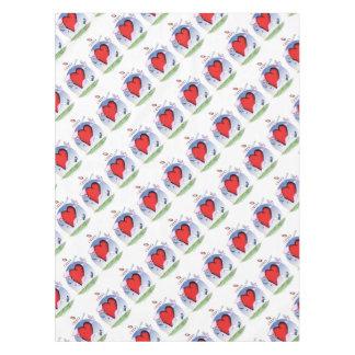 ohio head heart, tony fernandes tablecloth