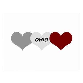 Ohio Heart Postcard
