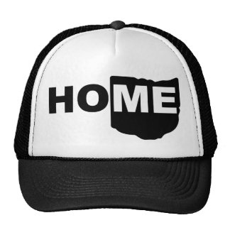 Ohio Home Away From State Ball Cap Trucker Hat