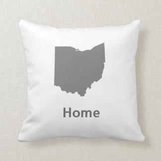 Ohio Home Throw Pillow
