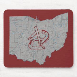 Ohio Horsehoes Mousepad