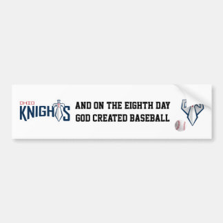 Ohio Knights Bumper Sticker - White