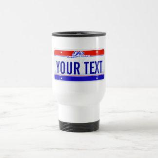 Ohio License plate Mug