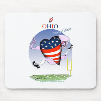 ohio loud and proud, tony fernandes mouse pad