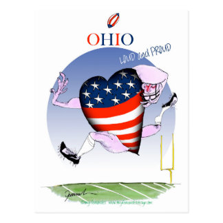 ohio loud and proud, tony fernandes postcard
