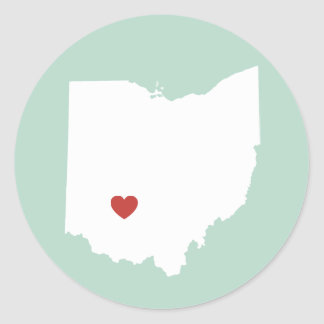 Ohio Love - Customizable Sticker