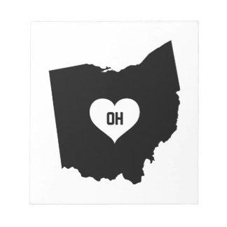 Ohio Love Notepad